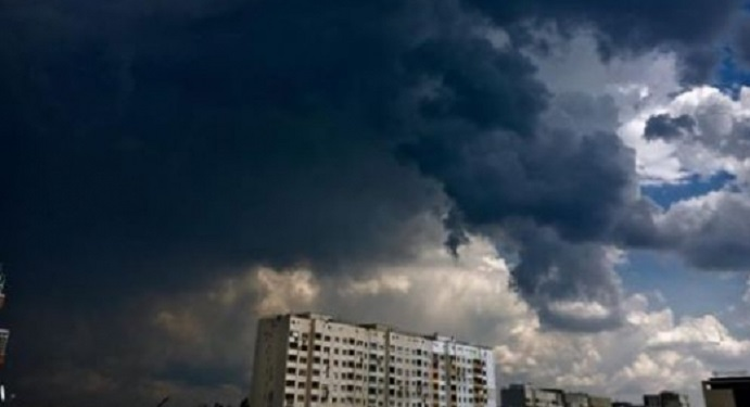 Буря, време