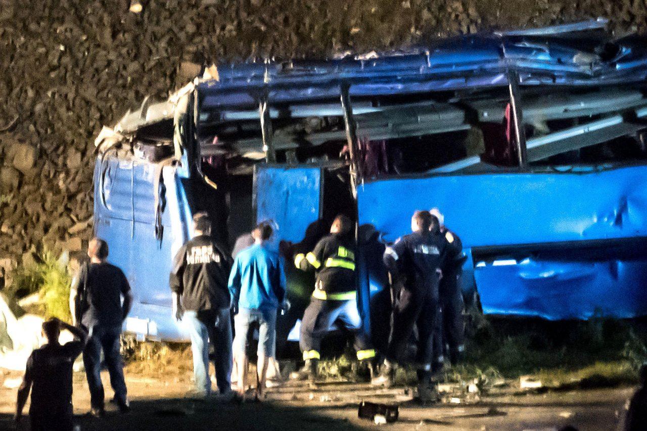 Автобус катастрофа