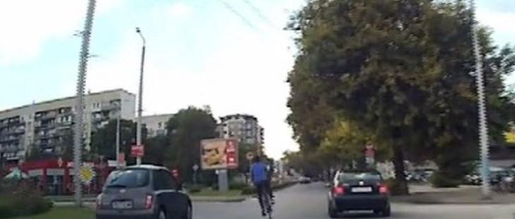 Безумец с колело Пловдив