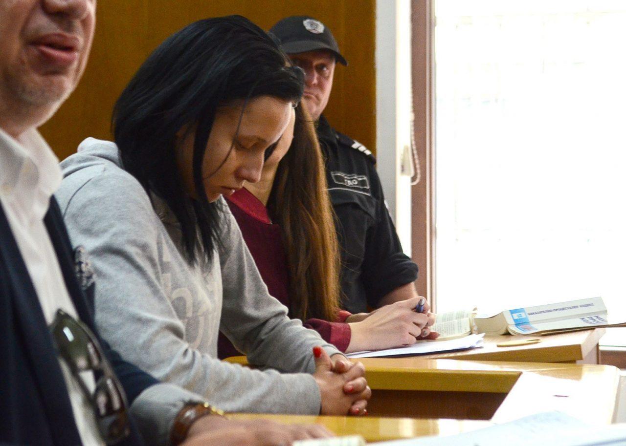 Габриела се разплака в съда