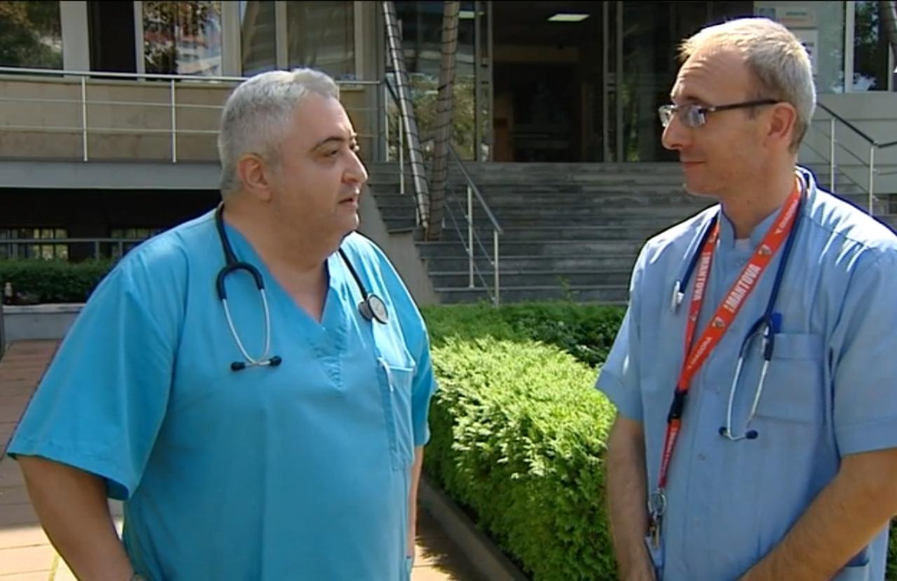 Д-р Иван Желяков и д-р Веселин Велчев Варна