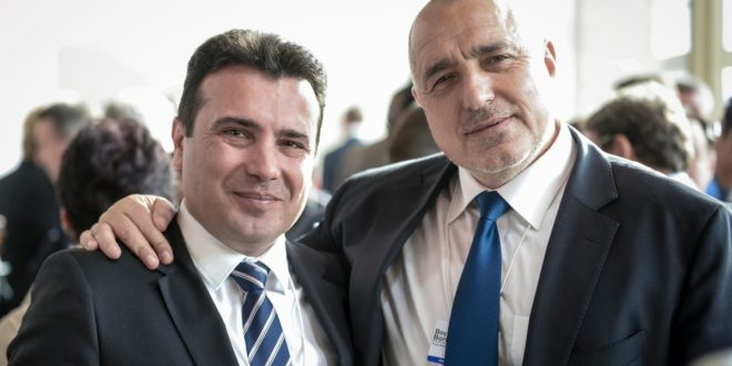 Зоран Заев, Бойко Борисов