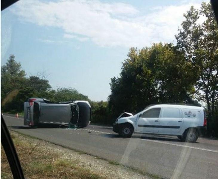 Катастрофа край Пловдив