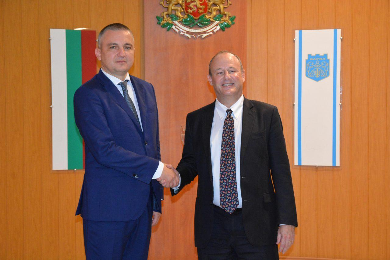 Кметът Иван Портних се срещна с посланика на САЩ у нас-DSC_1771