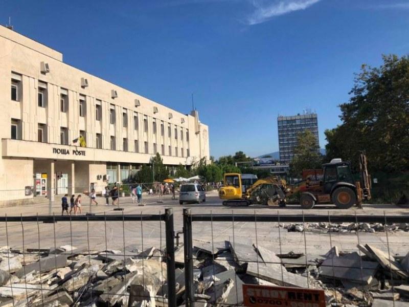 Площад Централен в Пловдив