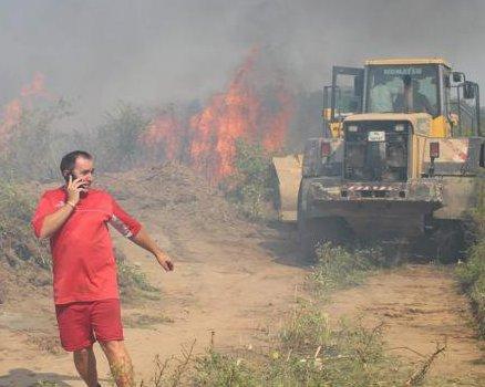 Пожар Бургас