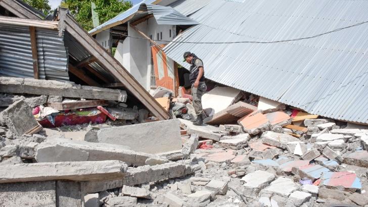 Земетресение Ломбок