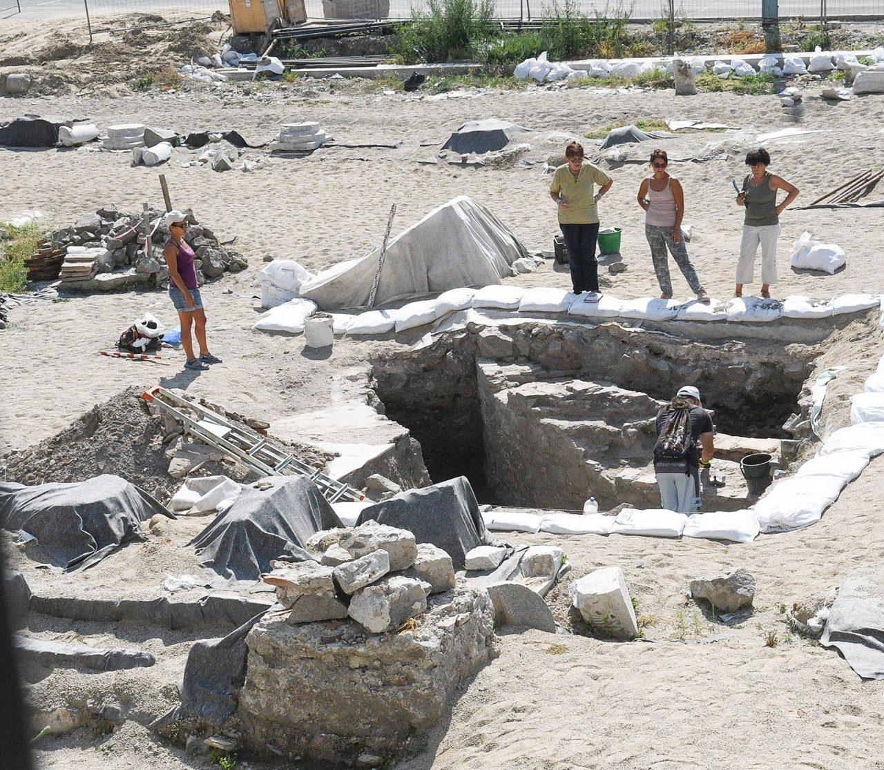 Нови археологически открития на Епископската базилика
