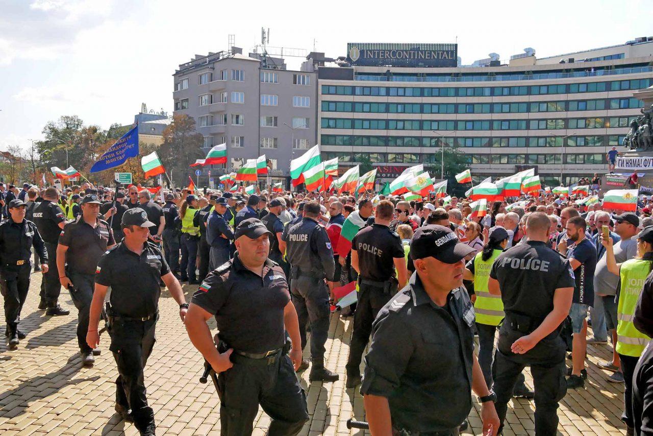 Протест пред парламента за смяна на системата (16)