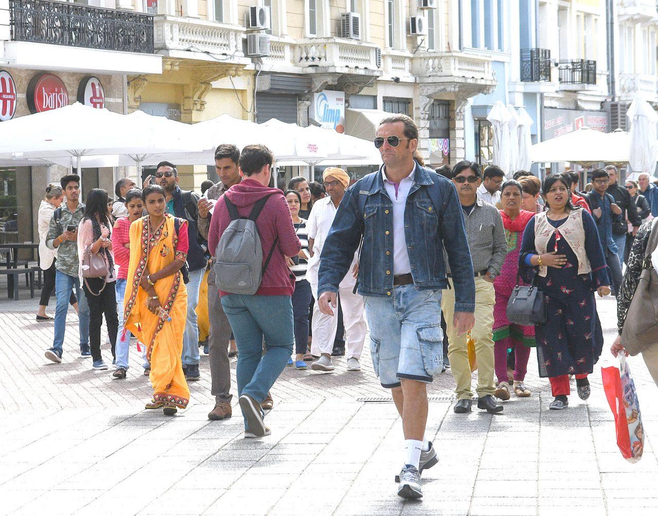 Туристи б Пловдив 01