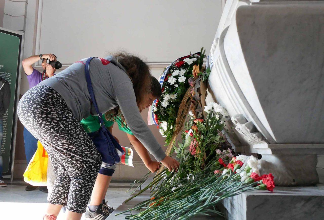 Честване на 133 години от съединението мавзолей на Княз Батенберг (1)
