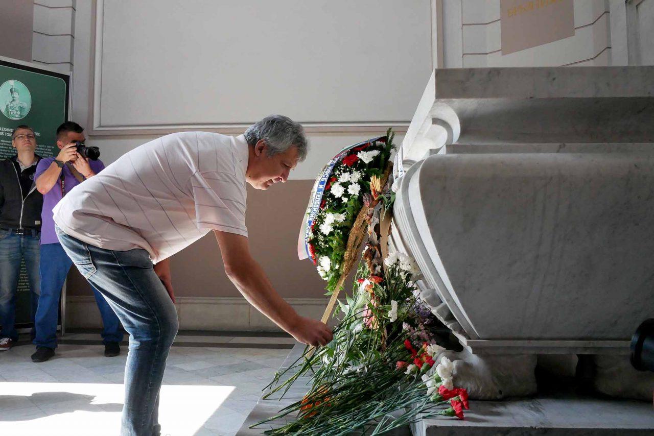 Честване на 133 години от съединението мавзолей на Княз Батенберг (2)