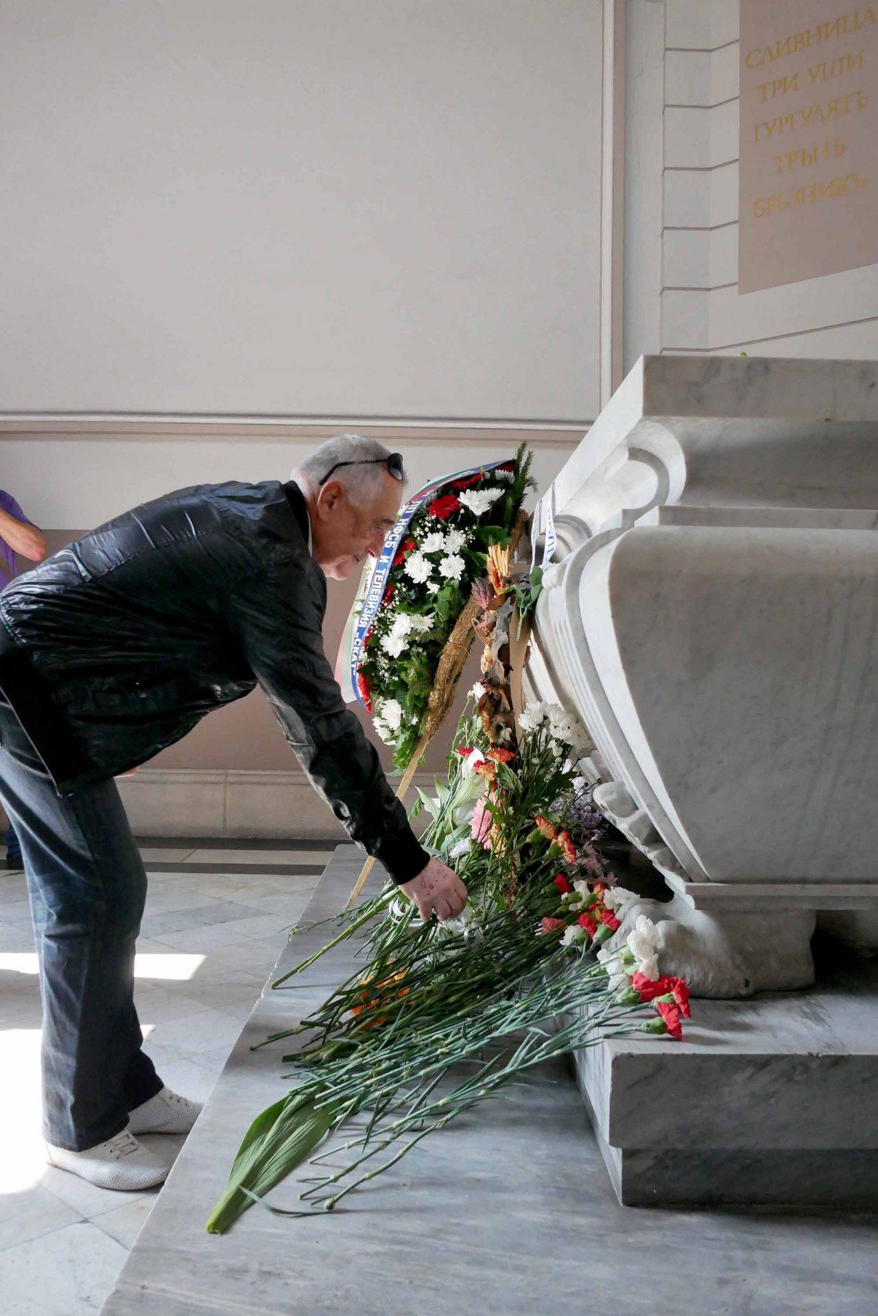 Честване на 133 години от съединението мавзолей на Княз Батенберг (3)