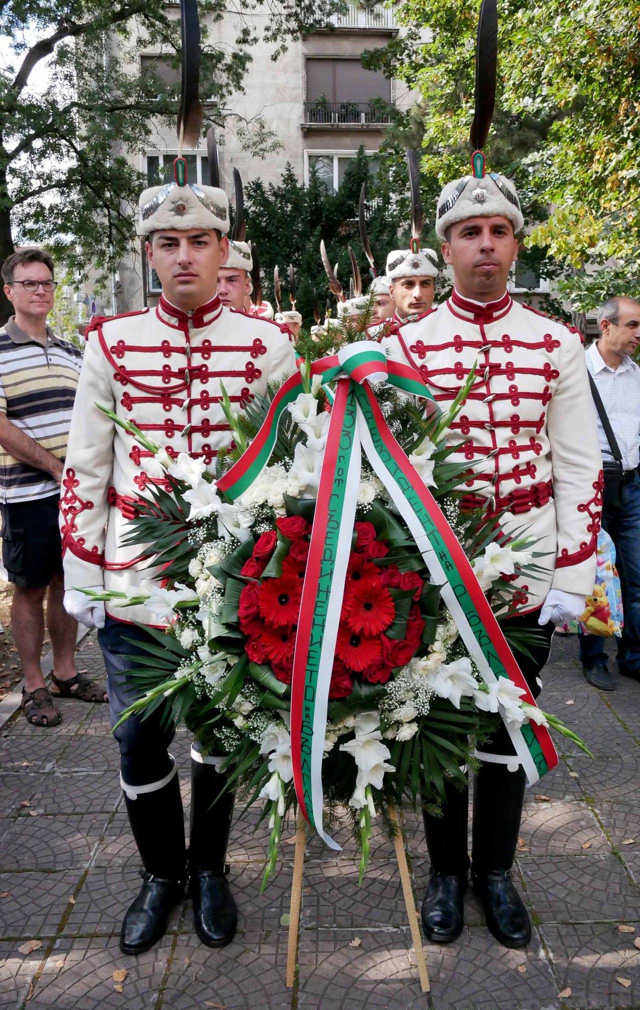 Честване на 133 години от съединението мавзолей на Княз Батенберг (6)