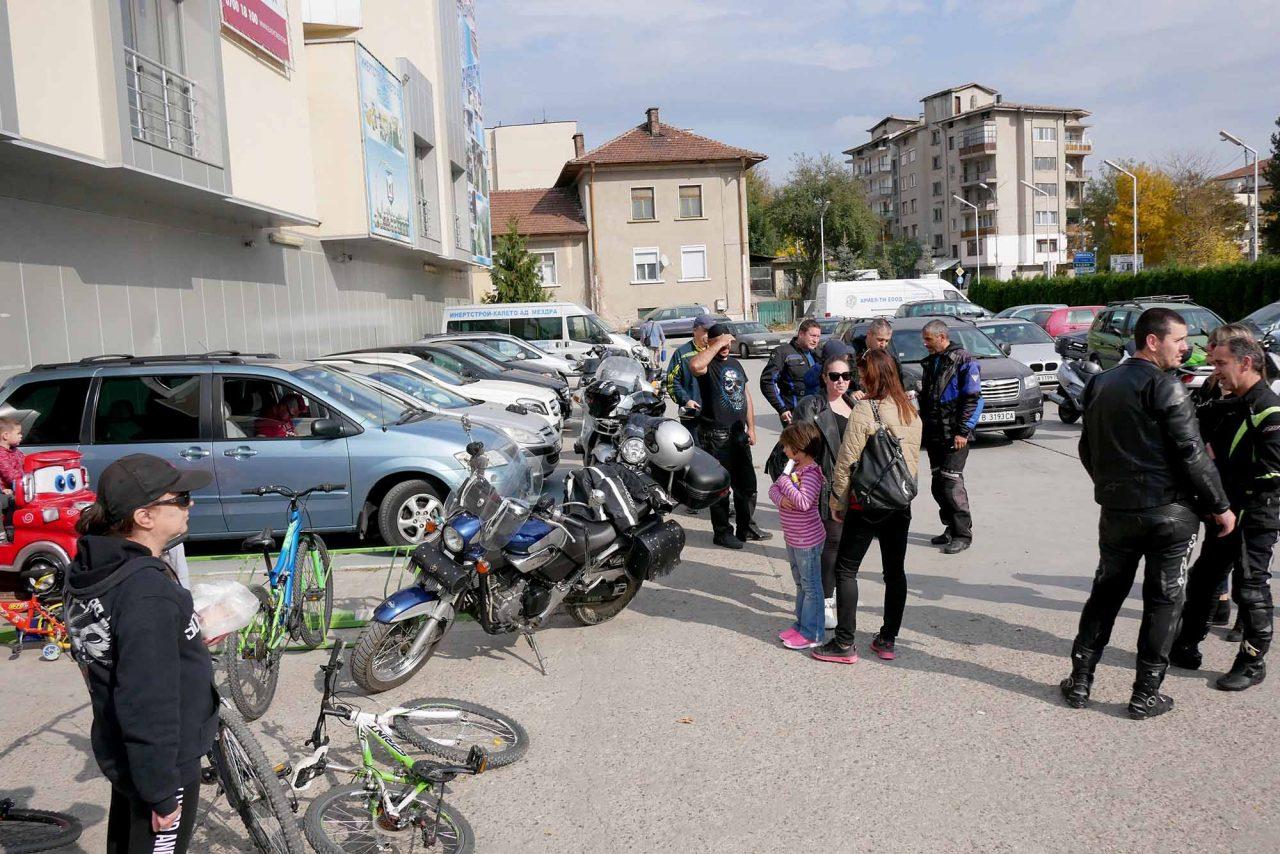 Софийски мотористи Да дарим усмивка Роман (1)