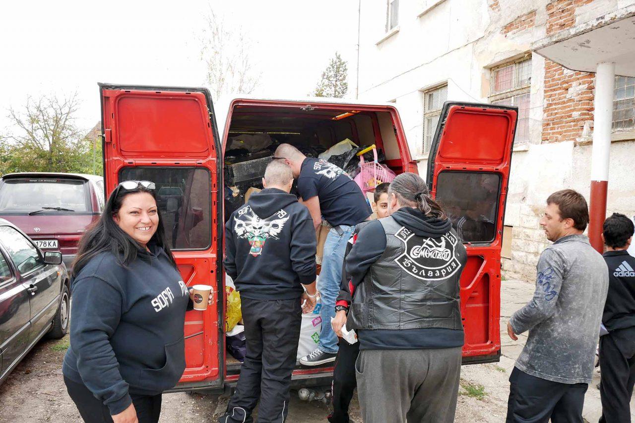 Софийски мотористи Да дарим усмивка Роман (10)