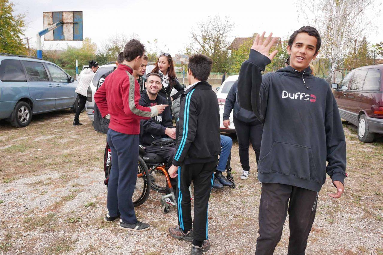 Софийски мотористи Да дарим усмивка Роман (17)