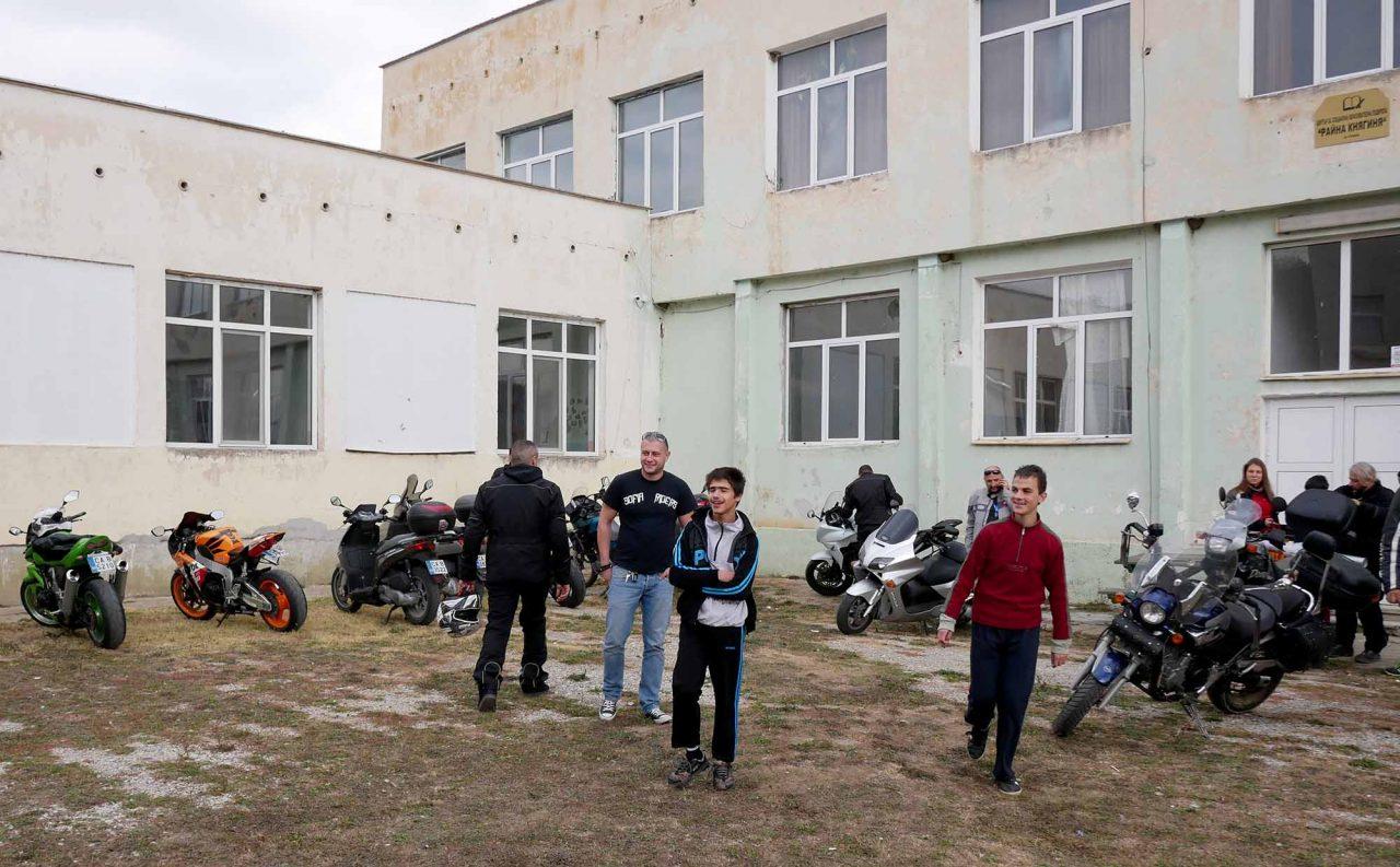 Софийски мотористи Да дарим усмивка Роман (4)