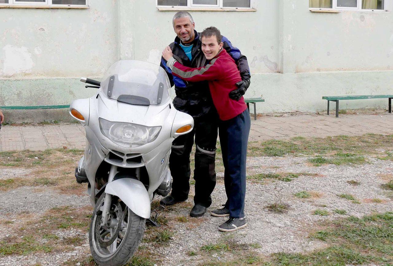 Софийски мотористи Да дарим усмивка Роман (5)