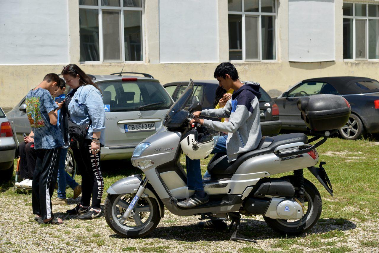 Софийски мотористи Да дарим усмивка Роман (7)
