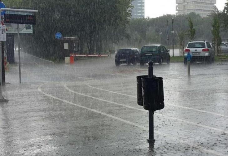 Дъжд, Времето