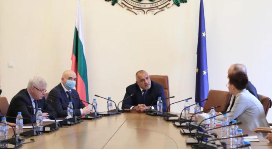 Кирил Ананиев, Венцислав Мутафчийски, Бойко Борисов