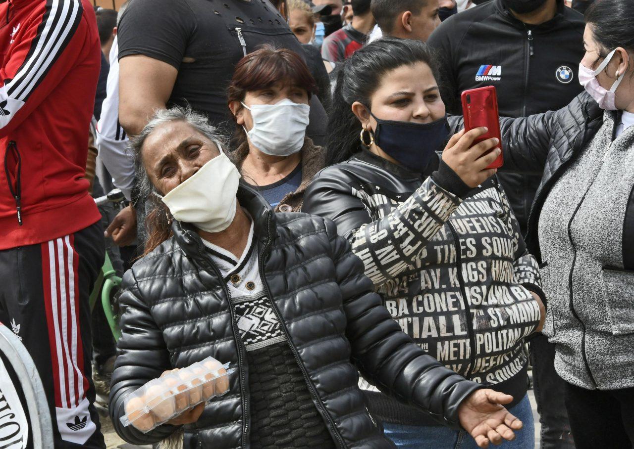 Цигани, Протест