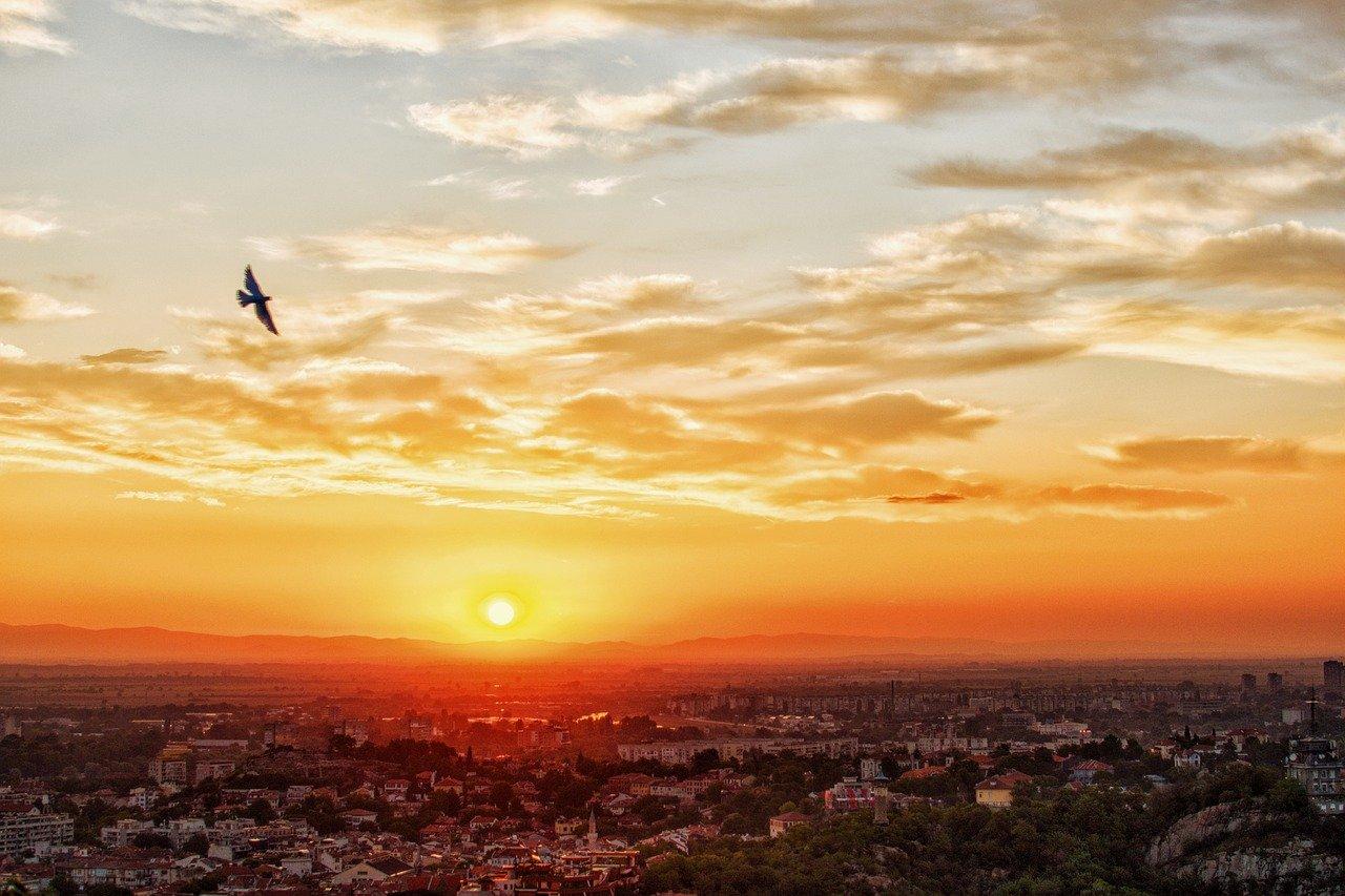 Пловдив, Залез, Времето, Слънце