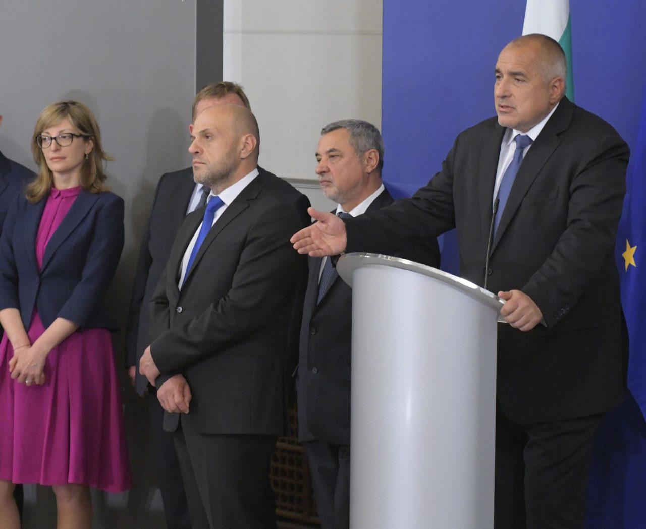 Бойко Борисов, томислав дончев, екатерина захариева